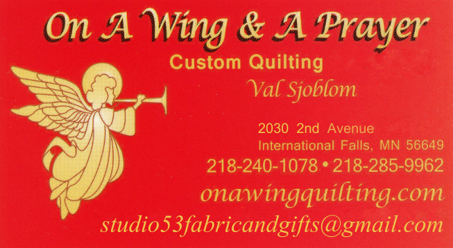 On A Wing Quilting.com